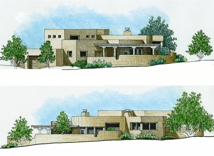 Forest Residence Elevations