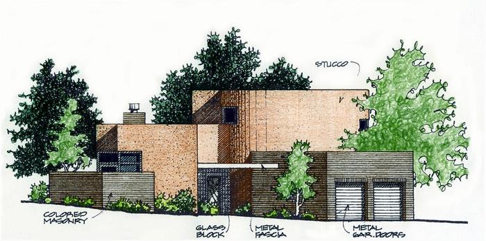 Ross Residence Elevation